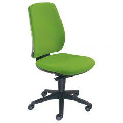 Bureaustoel Team groen zonder armleuning